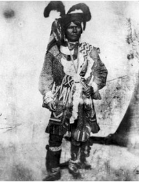Seminole Chief Holata Micco, also known as Billy Bowlegs, practiced self-inflicted bleeding to help cleanse the body of infections.